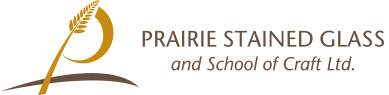 Prairie Stained Glass and School of Craft Logo