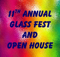 11th Open House logo for Pacific ArtGlass