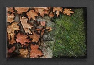 Radiant Rain glasswork by Roger V Thomas