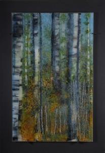 Summer Mist glass artwork by Roger Thomas