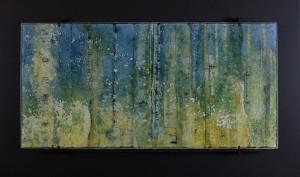 Dreamland glass artwork by Roger V Thomas